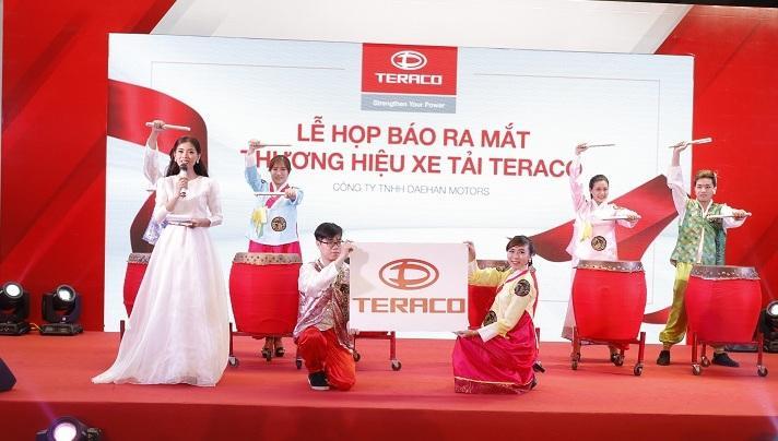 Lễ họp báo ra mắt thương hiệu xe tải TERACO
