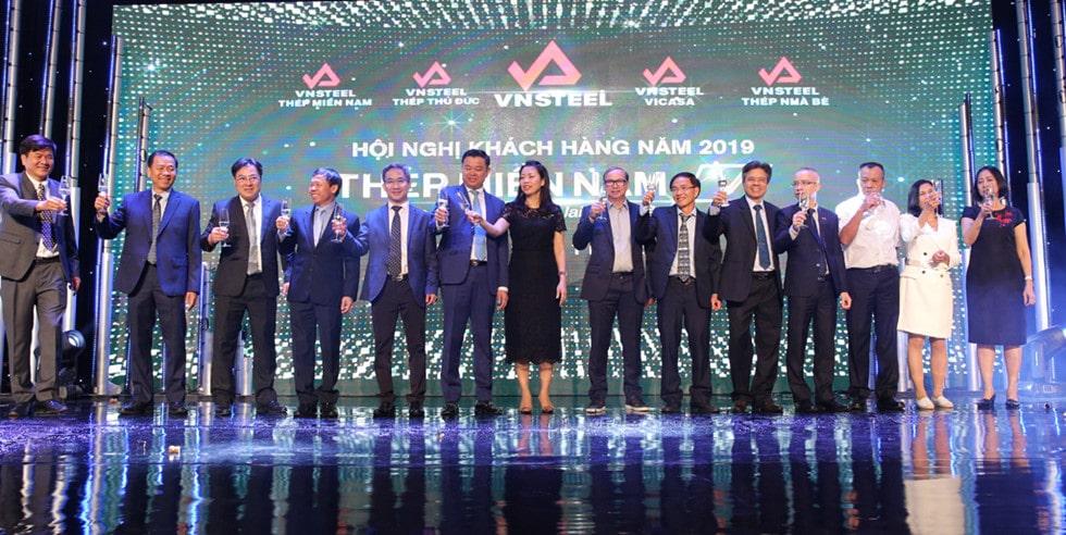 Hội nghị khách hàng Thép Miền Nam 2019-1