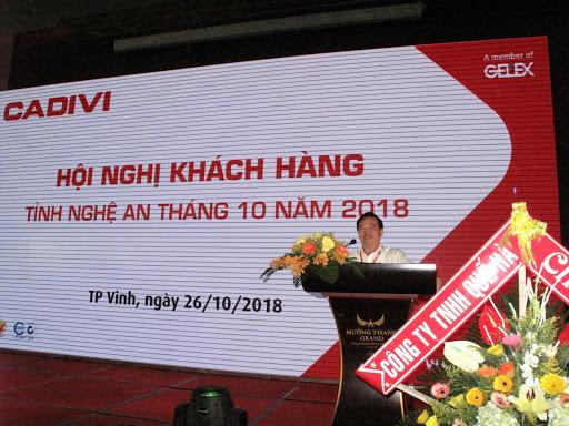 CADIVI Hội nghị khách hàng tỉnh Nghệ An tháng 10/2018