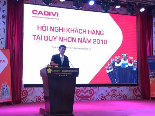 CADIVI hội nghị khách hàng tại Quy Nhơn năm 2018