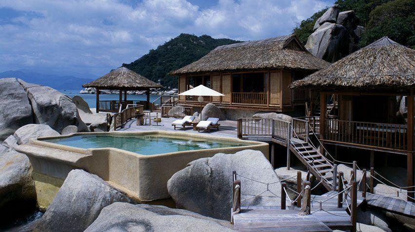 Resort Six Senses Ninh Vân Bay, Khánh Hòa thiết kế sát biển độc đáo